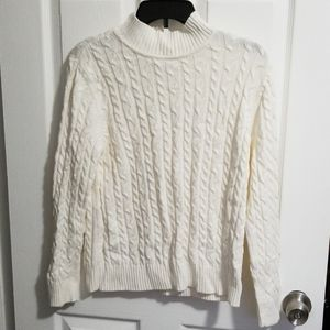 Petite knitted sweater